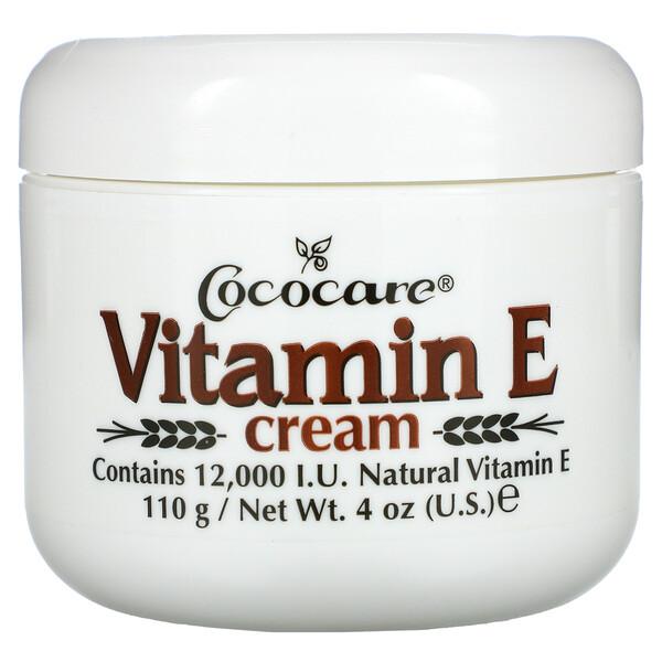Vitamin E Cream, 12,000 IU, 4 oz (110 g)
