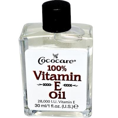 Купить 100% масло c витамином Е, 1 жидкая унция (30 мл)