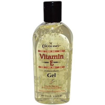 Купить Cococare Антиоксидантный гель с витамином E, 8, 5 жидких унций (250 мл)