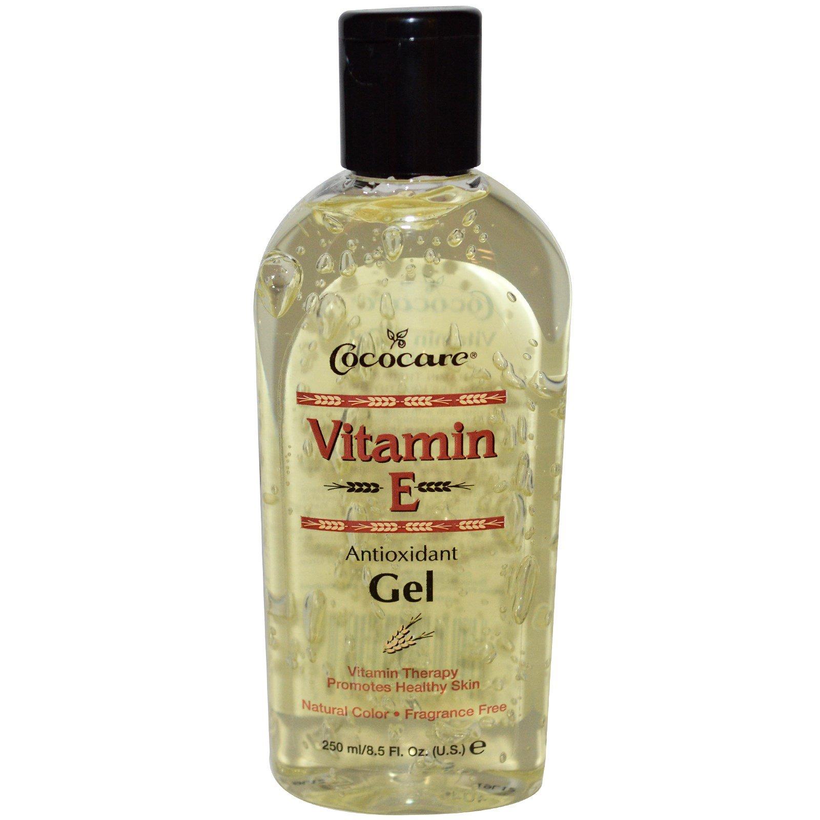 Cococare, Антиоксидантный гель с витамином E, 8,5 жидких унций (250 мл)