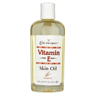 Cococare, Vitamin E Skin Oil, 4 fl oz (120 ml)