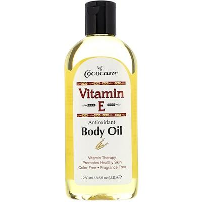 Купить Витамин Е, масло для тела 8.5 жидких унции (250 мл)