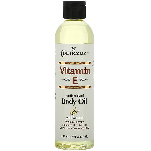 Cococare, Vitamin E, Body Oil, 8.5 fl oz (250 ml)