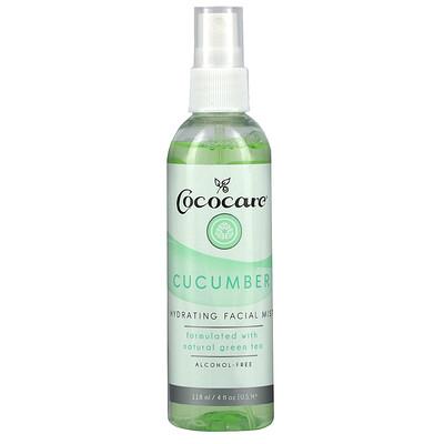 Cococare Cucumber, Hydrating Facial Mist, 4 fl oz (118 ml)