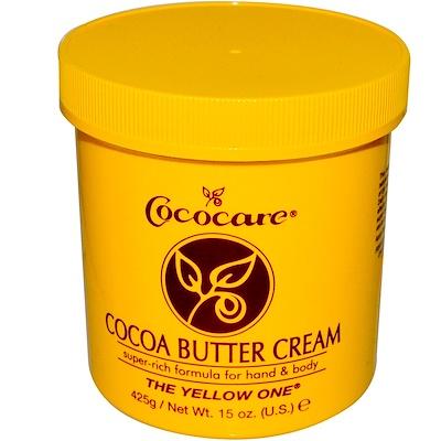 Купить The Yellow One, Крем с кокосовым маслом, 15 унций (425 г)