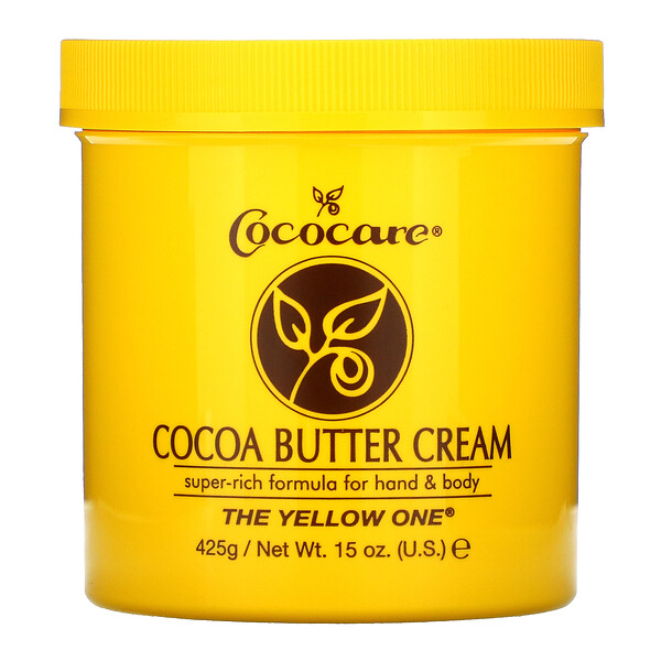 The Yellow One, crema de manteca de cacao, 15 oz (425 g)