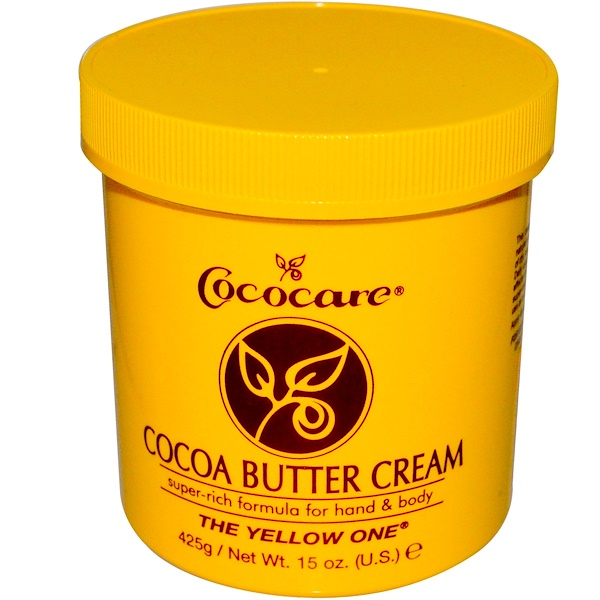 Cococare, The Yellow One, Cocoa Butter Cream, 15 oz (425 g)