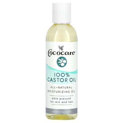 Купить Cococare 100% Castor Oil, 4 fl oz (118 ml)