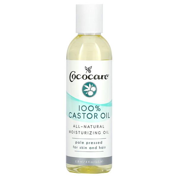 100% Castor Oil, 4 fl oz (118 ml)