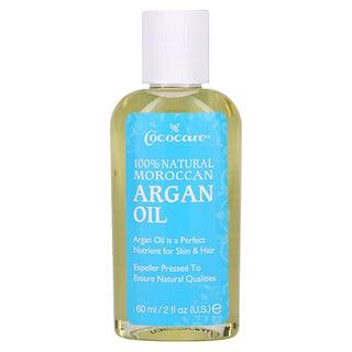Cococare, Aceite de argán marroquí natural al 100%, 60ml (2oz.líq.)