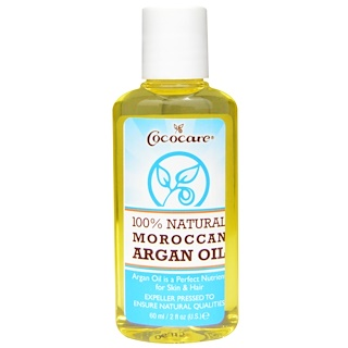 Cococare, Óleo de Argan Marroquino 100% Natural, 60 ml (2 fl oz)