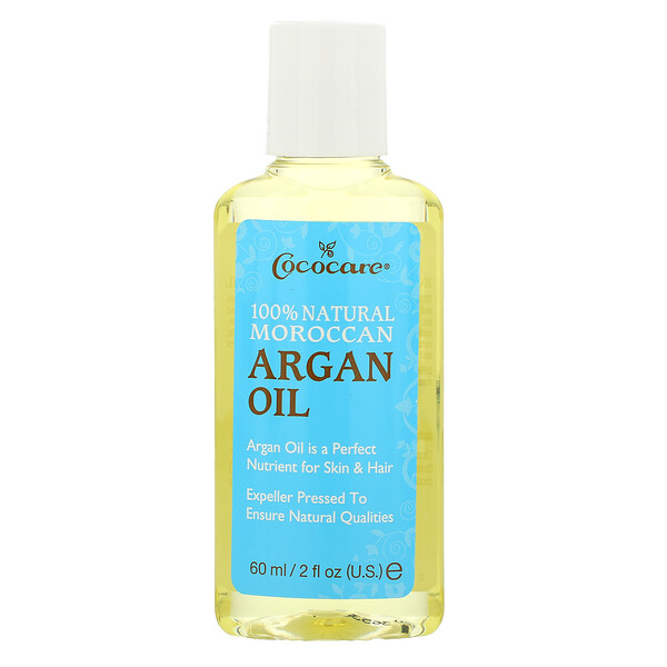 Óleo de Argan Marroquino 100% Natural, 60 ml (2 fl oz)