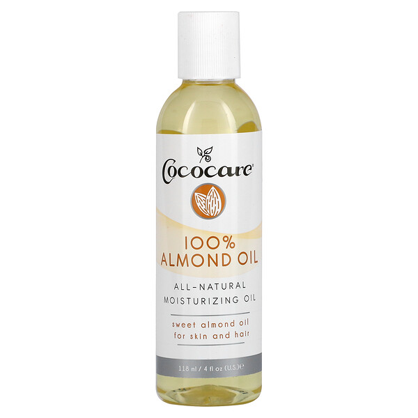 100% Almond Oil, 4 fl oz (118 ml)