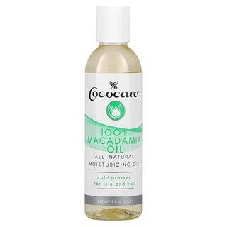 Cococare, زيت المكاداميا 100%، 4 أونصة سائلة (118 مل)