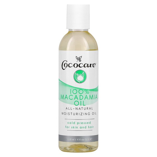 Cococare, Aceite de macadamia, 4 fl oz (118 ml)