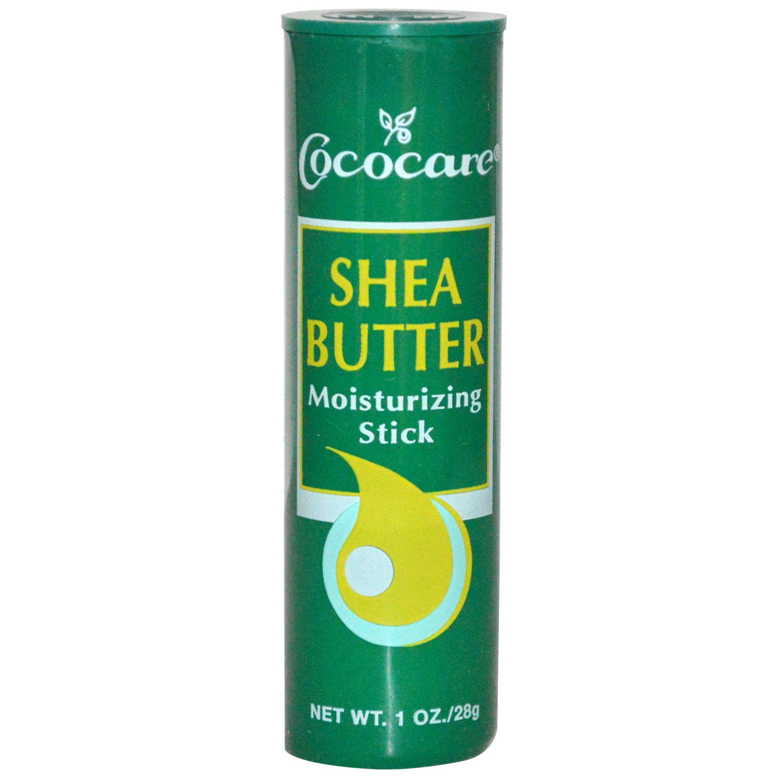 Cococare, Увлажняющий стик с маслом ши, 1 унция (28 г)