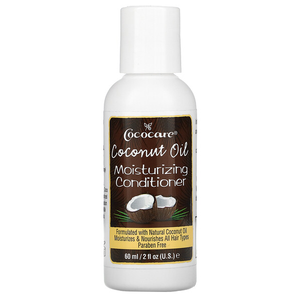 Coconut Oil Moisturizing Conditioner, 2 fl oz (60 ml)