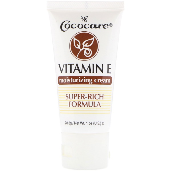 Cococare, Vitamin E Moisturizing Cream, 1 oz (28.3 g)