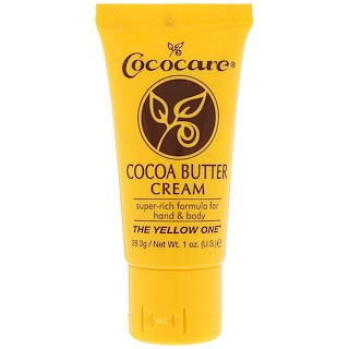 Cococare, كريم زبدة الكاكاو، 1 أوقية (28.3 غ)