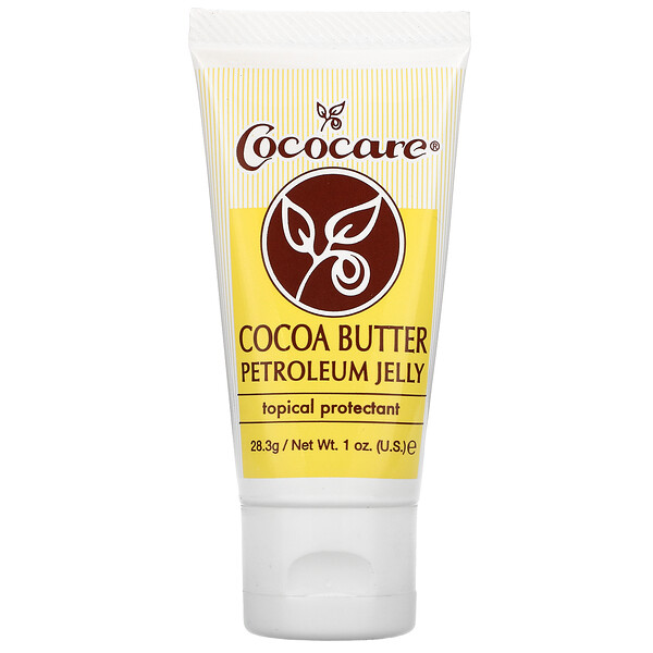 Cocoa Butter Petroleum Jelly, 1 oz (28.3 g)