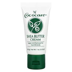 Cococare, 乳木果油乳霜,1 盎司(28.3 克)