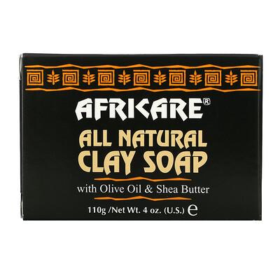 Купить Cococare Africare, Полностью натуральное мыло с глиной, 4 унции (110 г)