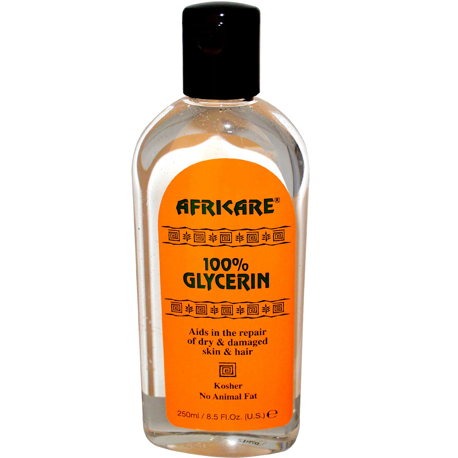 Cococare, Африкэр, 100% Глицерин, 250 мл (8,5 жидких унций)