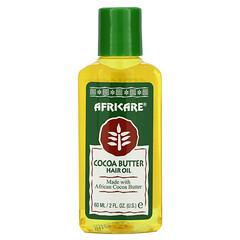 Cococare, Africare,可可脂髮油,2 液量盎司(60 毫升)