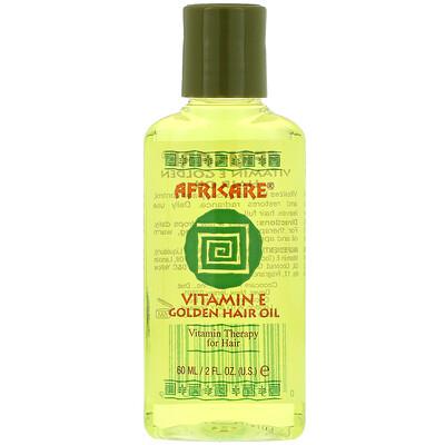 Купить Cococare Africare, золотистое масло для волос с витаминомЕ, 60мл (2жидк.унции)