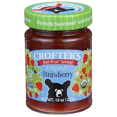 Crofter's Organic 有機草莓果醬,10盎司(283克)