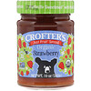 Crofter's Organic, Organic, Just Fruit Spread, Strawberry, 10 oz (283 g)