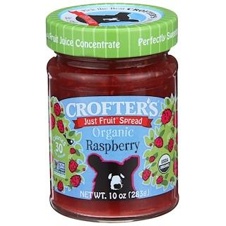 Crofter's Organic, Reiner Fruchtaufstrich , Bio-Himbeere, 10 oz (283 g)