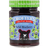 Crofter's Organic, Just Fruit Spread, Wild Blueberry, 10 oz