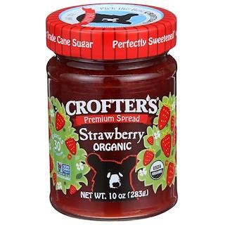 Crofter's Organic, Premium-Brotaufstrich, Erdbeere, Bio, 10 oz (283 g)