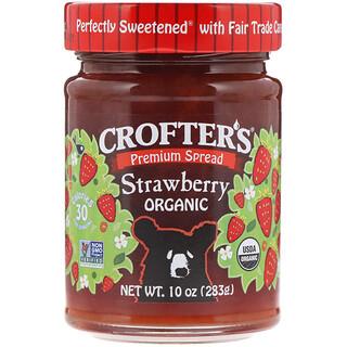 Crofter's Organic, Crofter's, Organic  Strawberry, 10 oz (283 g)