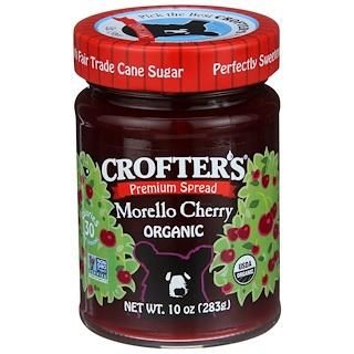 Crofter's Organic, Premium Fruchtaufstrich , Schattenmorelle, 10 oz (283 g)