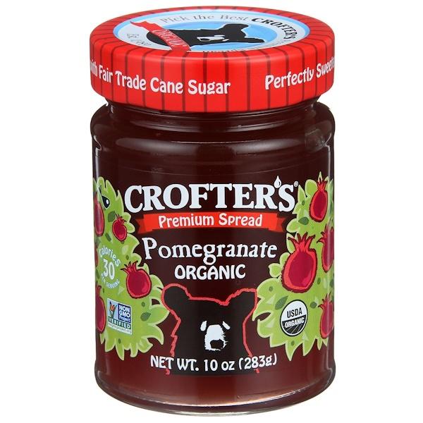 Crofter's Organic, Organic, Premium Spread, Pomegranate, 10 oz (283 g) (Discontinued Item)