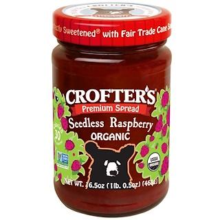 Crofter's Organic, Bio-Premium-Aufstrich, Kernfreie Himbeeren, 468 g