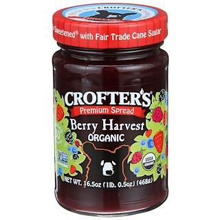 Crofter's Organic, Premium-Aufstrich, Bio-Beeren-Ernte, 16,5 oz (468 g)