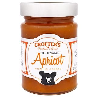 Crofter's Organic, Biodynamisch, Erstklassiger Brotaufstrich, Aprikose, 283 g
