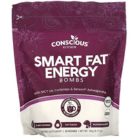 Conscious Kitchen, Smart Fat Energy Bombs,  24 Bombs