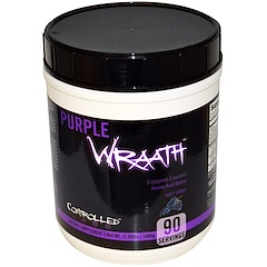 Controlled Labs, Purple Wraath, Juicy Grape, 2.39 lbs (1084 g)