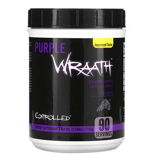 Controlled Labs, Purple Wraath(パープルラース)、ジューシーグレープ、1,084g(2.39ポンド)