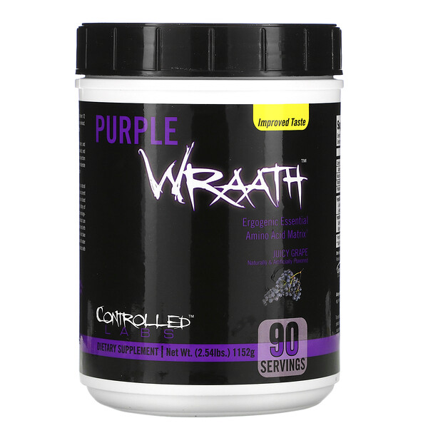 Purple Wraath, Juicy Grape, 2.39 lbs (1084 g)