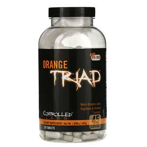 Контроллд Лэбс, Orange Triad, Multi-Vitamin, Joint, Digestion & Immune Formula, 270 Tablets отзывы покупателей