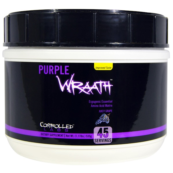 Controlled Labs, Purple Wraath, Juicy Grape, 1.17 lbs (535 g)