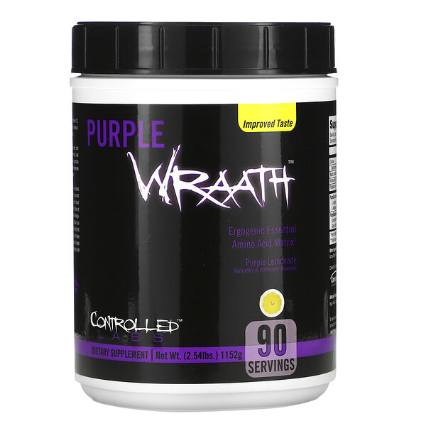Purple Wraath, Purple Lemonade, 2.44 lbs (1108 g)