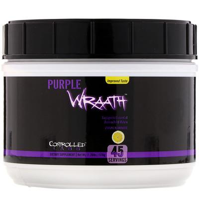 Controlled Labs Фиолетовый гнев, фиолетовый лимонад, 1,26 фунта (576 г)