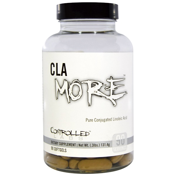Controlled Labs, CLAmore, 90 Softgels (Discontinued Item)