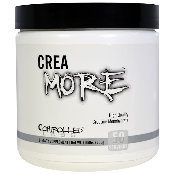 Controlled Labs, Crea More, .55 lbs (250 g) (Discontinued Item)
